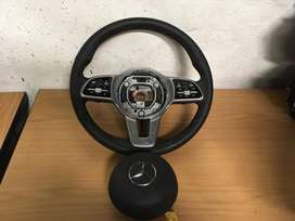 Mercedes Benz C-Class W205 Steering Wheel And Paddle Shift