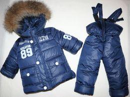 Зимний комбинезон + куртка на мальчика. Р 26-32. Цена до 01.09