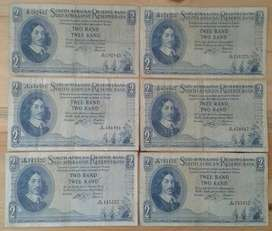 Nice large 1962 R2 notes (1st R2 notes)