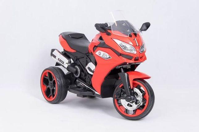 Nowy motor na akumulator, motocykl elektryczny 3 kołowy, niebieski Nowy Dwór Mazowiecki - image 1