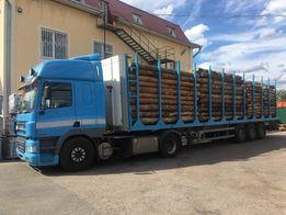 Лесовоз перевозка леса (по Украине)