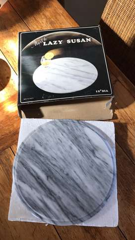 Lazy Susan marble