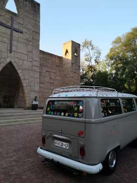 Classic Vintage car hire matric farewell hippy kombi