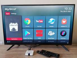 1 year old Hisense 40 inch TV with MyGica Android box