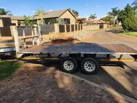Low bed  trailer 4.5x2m 3.5ton