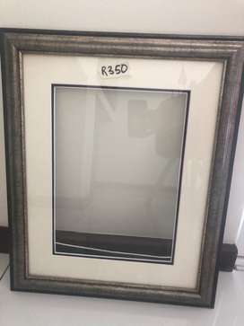 Dark Brown Picture Frame with Glass