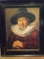 Obrazy różne , portrety , Polowanie , płótno , olej , cena od 550 zł.