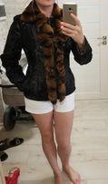 Натуральная куртка-дубленка