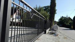 Ogrodzenia brama przesuwna wzór wiśnia Wrocław Producent