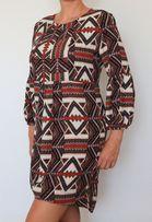Sukienka wzorki rozmiar M