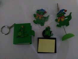 Подарочный набор канцтоваров, сувенир из: зажим для заметок, блокнот