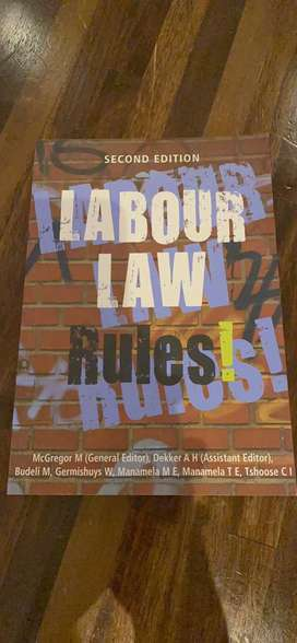 2nd edition Labour Law Rules - Gregor