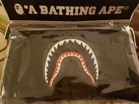 Bape shark mouth black mask