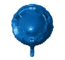 Balon foliowy OKRĄGŁY niebieski