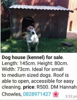Dog kennel/house for sale