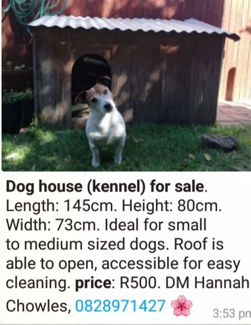 Dog kennel/house for sale 0