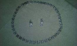 Stara Biżuteria naszyjnik i kolczyki