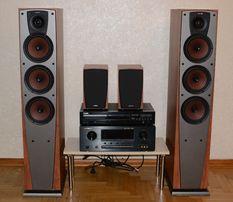 HI-FI акустика - колонки JAMO C 401 + 407 підсилювач Marantz SR5300