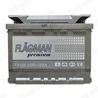 Аккумулятор Flagman Premium 6ст-60А/ч (0) 12V 600en