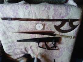 Sword and battle axe for sale