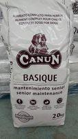 Karma dla psa Canun Basique 20 kg dla psów seniorów i dojrzałych