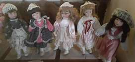 Collectors porcelain dolls
