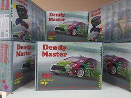 Игровая 8 Битная приставка Dendy Master Plus 195 встроенных игр Dendy