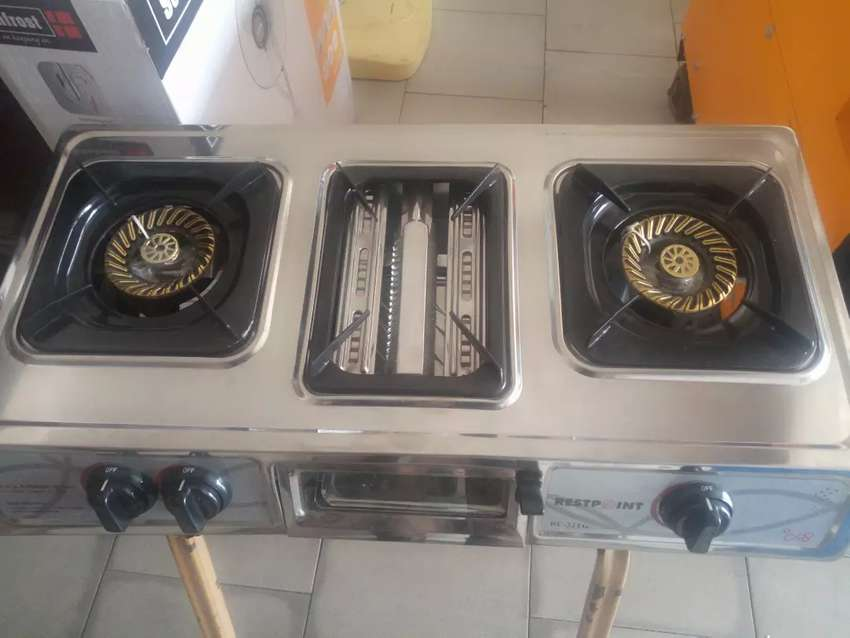 Table gas/grill cooker 0