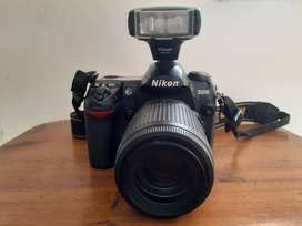 Nikon D200 Camera & Nikon DX Lens for Sale!