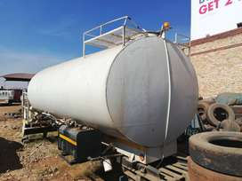 Water tanker construction