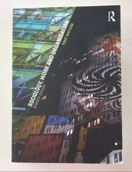 Sociology, Work and Organisation 7th Edition