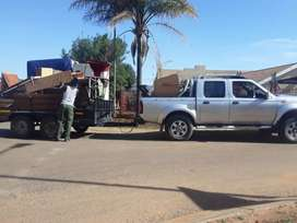Bakkie for hire short and long distance available