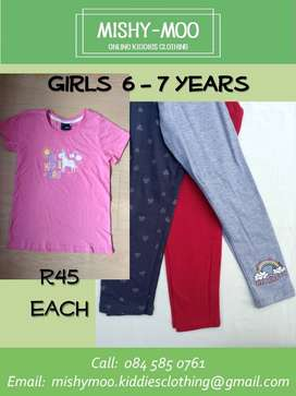 New Girls Clothing at Wholesale Prices - R45 each