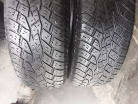 2×225/65/17 TOYO A/T tyres for sale