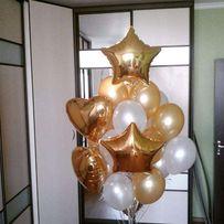Гелиевые шарики, фольгированные, цифры, фигуры, большие шары.