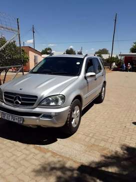 Mercedes ML SUV very realiable fuel saver cash or swop plus cash