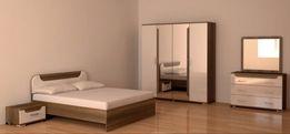 Продам Кровать с матрасом и шифоньер