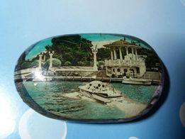 Сувенирный камень Ялта 1970 год 2 шт.