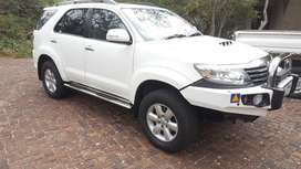 2012 Toyota Fortuner Heritage Edition 4X4