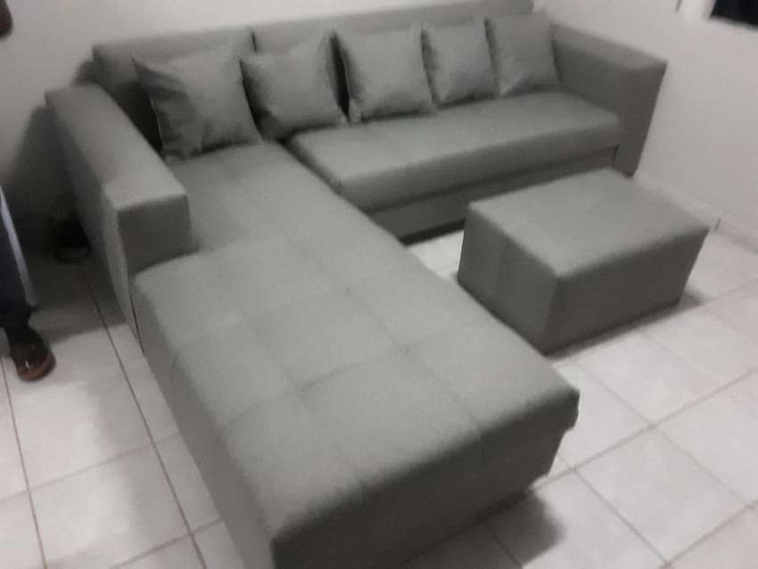 Brand new l shape corner couch