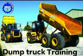 dump truck training school