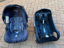 Graco car chair and isofix