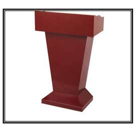 Natural Wood Podium At Low Cost Prices