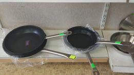 Сковорода кухонная профессиональная сендвич дно D - 20-28 см