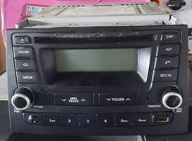 Hyundai i10 mp3 cd player with Bluetooth and traffic alert