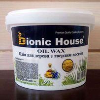 Масло-воск, олія з карнаубським воском для вагонки Bionic-House 10 л.