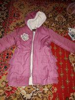 Куртка парка детская 4-5лет