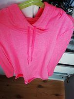 Bluza różowa sportowa