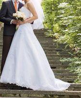 БЕЛОЕ свадебное платье, прокат