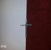 подвеска крест, серебро 925 проба
